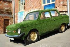 汽车绿色 免版税图库摄影