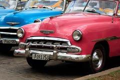 汽车老古巴 库存图片