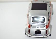 汽车老牌模型后部 免版税库存照片