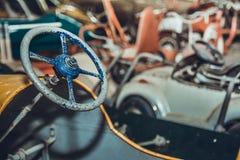 汽车老玩具 库存照片