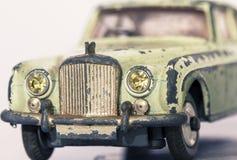 汽车老玩具 免版税图库摄影