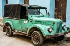 汽车老葡萄酒 库存图片