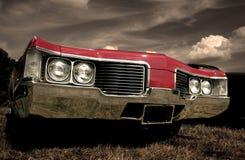 汽车肌肉红色 库存图片