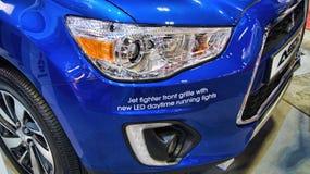 汽车自动LED白天连续车灯ASX 免版税库存图片