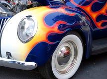汽车自定义的细条纹 免版税库存图片