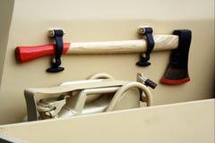 汽车被装备的工具箱生存 免版税库存图片