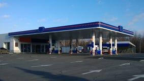 汽车装载的燃料加油站 免版税图库摄影