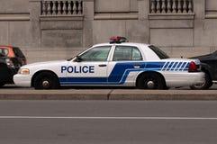 汽车警察 免版税库存照片