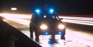 汽车警察 免版税库存图片