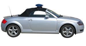 汽车警察 库存照片