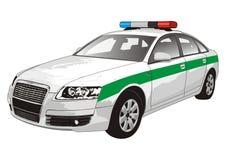 汽车警察 库存图片