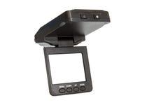 汽车记录的交通的照相机dvr 免版税库存照片
