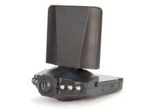 汽车记录的交通的照相机dvr 库存照片