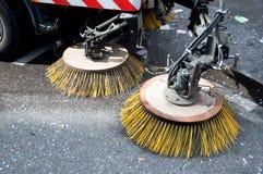汽车设备道路清扫工 免版税库存照片