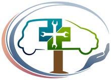 汽车诊所 向量例证