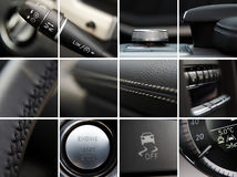 汽车详述内部 免版税库存图片
