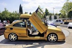 汽车调整的陈列 免版税库存图片