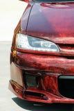 汽车调整的陈列 免版税图库摄影
