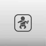 汽车象的婴孩 库存照片
