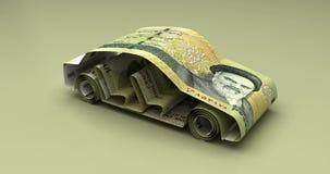 汽车财务伊朗里亚尔 向量例证
