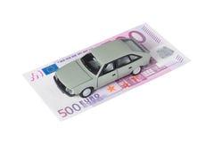 汽车货币 库存图片