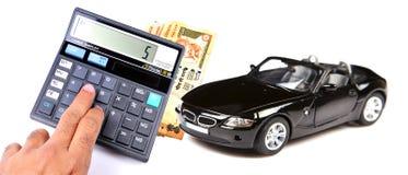 汽车贷款溢价 库存图片