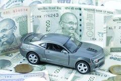汽车贷款,汽车保险,汽车费用 库存图片