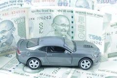汽车贷款,汽车保险,汽车费用 免版税图库摄影