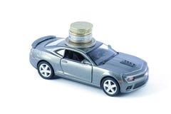 汽车贷款,汽车保险,汽车费用 免版税库存图片