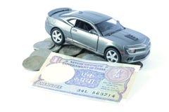 汽车贷款,汽车保险,汽车费用 免版税库存照片