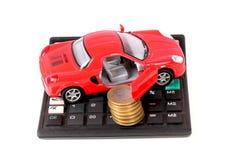 汽车费用 免版税图库摄影