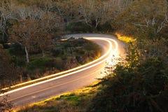 汽车路跟踪 图库摄影