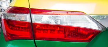 汽车车后灯 库存图片