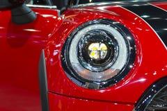 汽车车灯或前灯 免版税库存照片