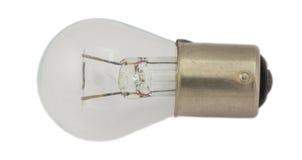 汽车车灯的老电灯泡 免版税库存照片