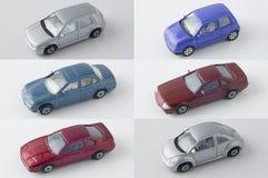 汽车转换中断玩具 免版税图库摄影