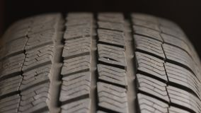 汽车轮胎转动 股票录像