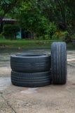 汽车轮胎 图库摄影