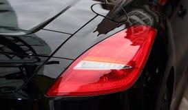 汽车轻的体育运动尾标 免版税库存图片