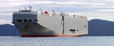 汽车运载船船 库存图片