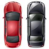 汽车选件类d向量 免版税图库摄影