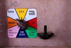 汽车选择洗涤 免版税库存图片