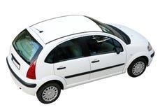 汽车透视图顶层 库存照片