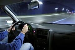汽车速度 免版税库存图片