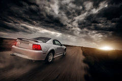 汽车速度 图库摄影