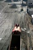 汽车采煤 免版税库存图片