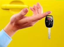 汽车钥匙。 免版税图库摄影