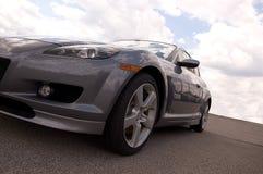 汽车银色体育运动 图库摄影