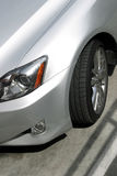 汽车银色运动 图库摄影