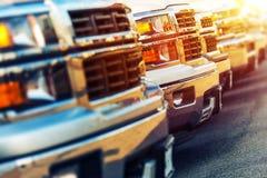 汽车销售企业概念 库存照片